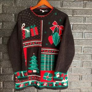 Vintage Christmas sweater size XL
